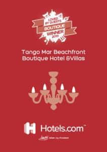 Tango Mar Hotel Award